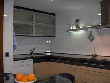 encimera de cocina en granito negro